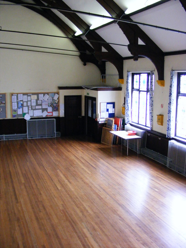Right hand view of the Jarman Hall from the stage